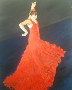 Flamenco Red