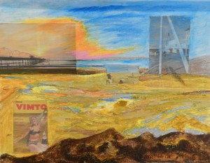 GOLDEN SANDS Very Mixed Medic Collage 46 cm X 35 cm NFS